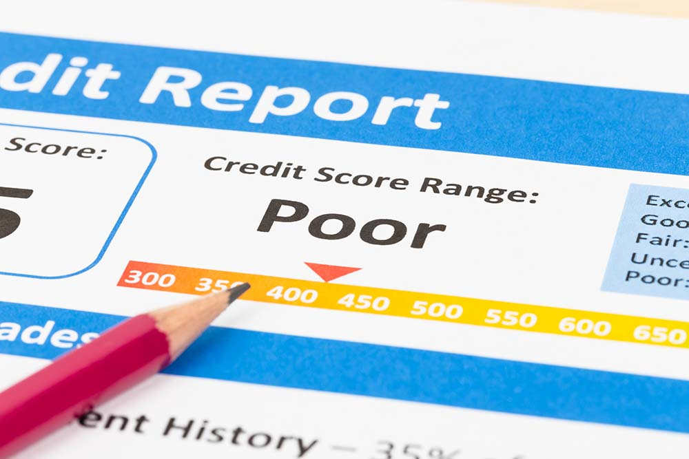 Poor Credit Scores Equal Higher Premiums